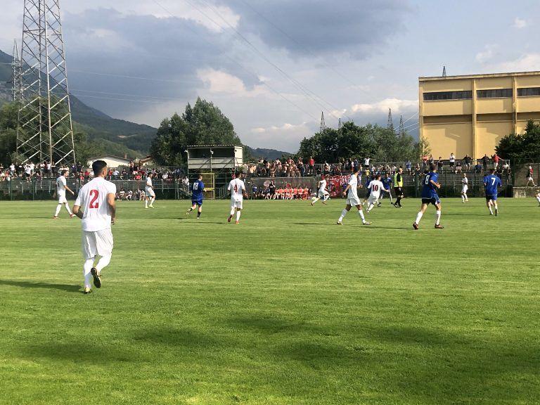 """Serie C, il Teramo ne fa 16 allo Sportland Celano ma Tedino avverte: """"Siamo molto incompleti"""""""