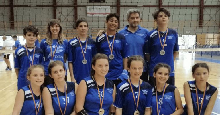CSI, Fortitudo Volley Teramo medaglia d'argento a Cesenatico