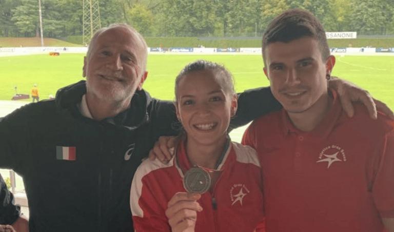 Atletica, Giada Bilanzola medaglia di bronzo agli Assoluti