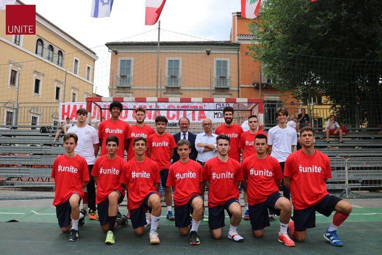 Coppa Interamnia, torneo universitario: l'Unite handball vince la partita di esordio