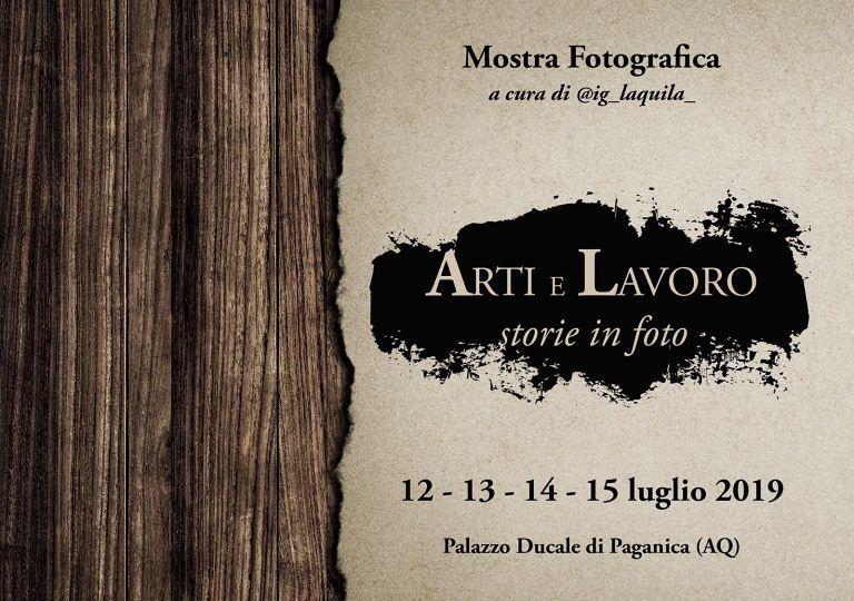 Paganica, Arti e Lavoro in una mostra fotografica al Palazzo Ducale