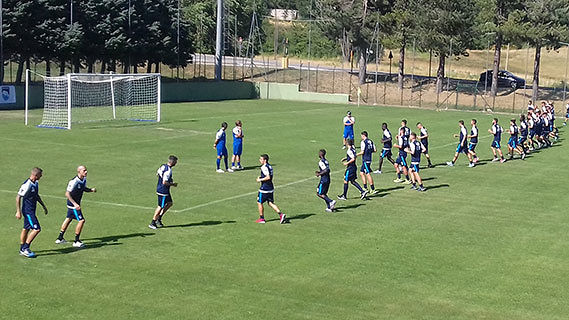 Focolaio Covid: il Pescara torna ad allenarsi