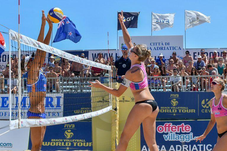 Alba Adriatica, beach volley. Riscontri positivi per il World Tour e si pensa già al 2020