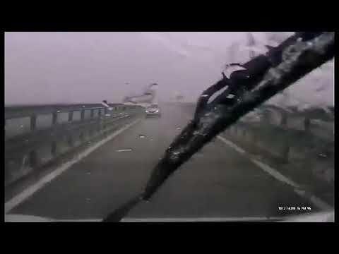 Auto contromano su una rampa della Teramo mare VIDEO