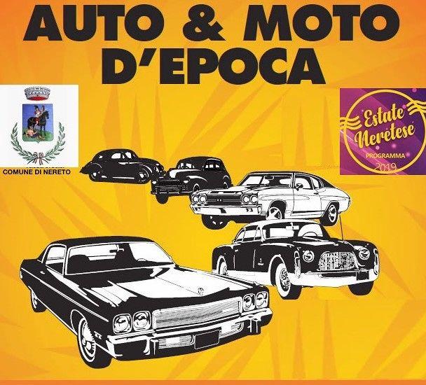 Nereto, oggi il raduno di auto e moto d'epoca