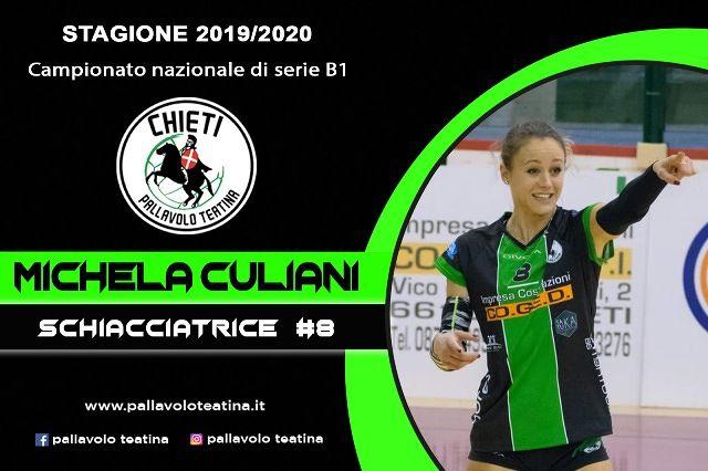Una leader per la Teatina: Michela Culiani