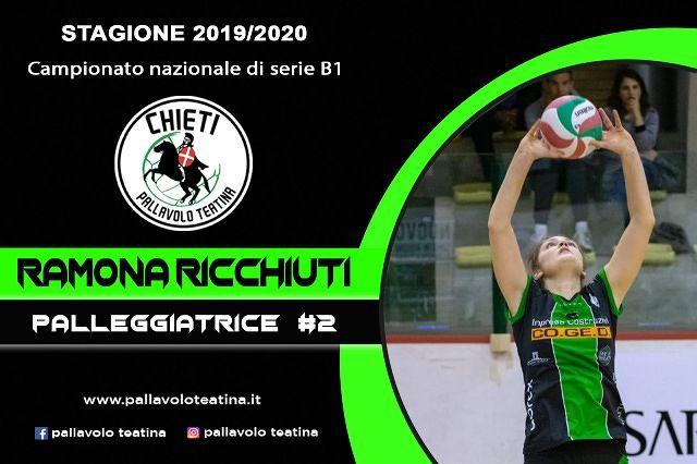 Pallavolo Teatina, una sfida personale: Ramona Ricchiuti