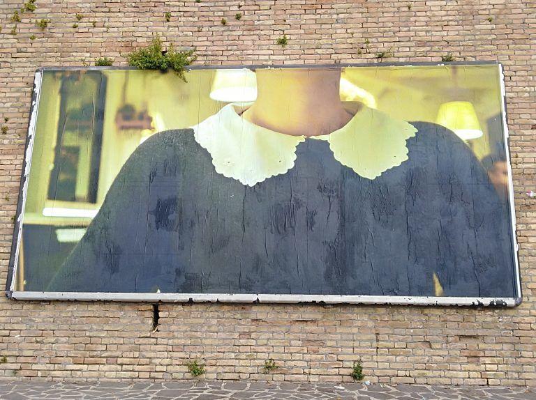 Atri, la Faces art di Andrea Astolfi stupisce i cittadini