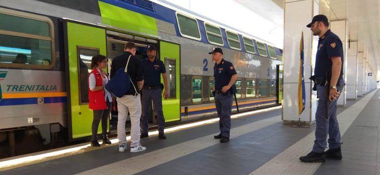 Controlli sui treni e nelle stazioni: il bilancio dell'ultima settimana