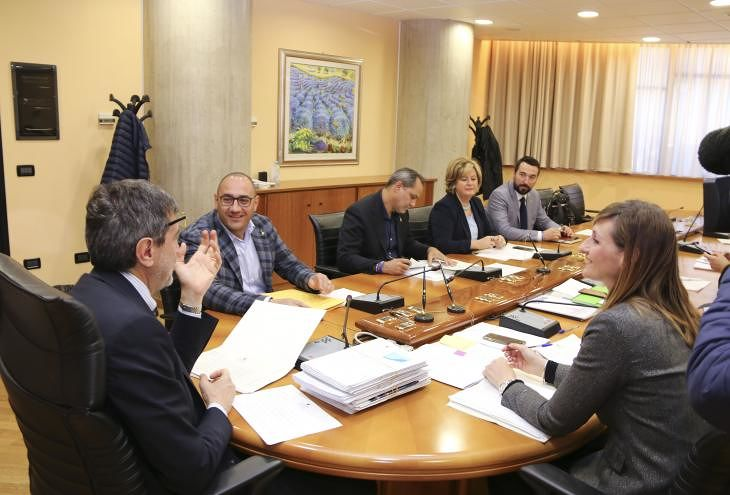 Giunta regionale: i provvedimenti adottati