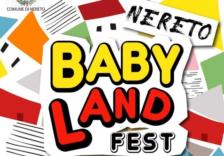 Nereto diventa la città dei bambini con Babyland Fest