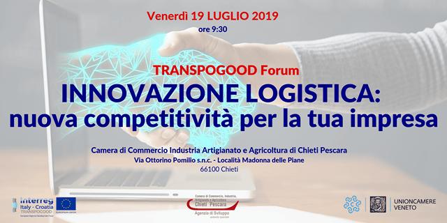 Forum 'Innovazione e logistica' a Chieti