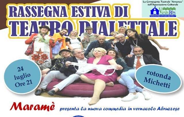 Francavilla, ottava edizione della rassegna di teatro dialettale abruzzese