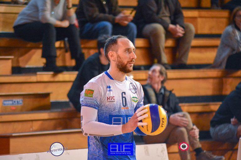 Blueitaly Pineto Volley: Livio Porcinari confermato in squadra