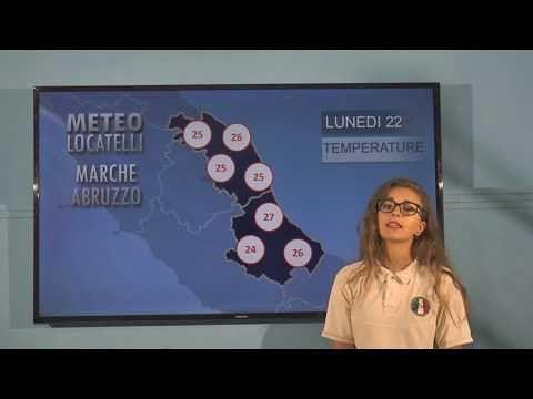 Previsioni del tempo lunedì 22 luglio VIDEO