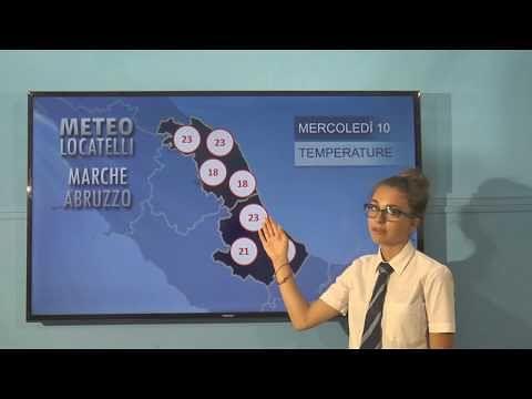 Previsioni del tempo mercoledì 10 luglio VIDEO