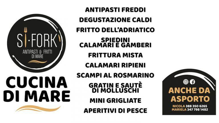 SI FORK Ristorante di Pesce Cucina Espressa! Alba Adriatica (Te) Lungomare Marconi,zona Pineta Sud
