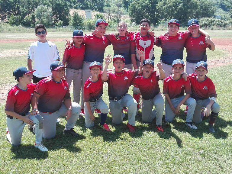"""Baseball, gli Under 12 del Teramo campioni regionali, """"anche senza campo"""""""