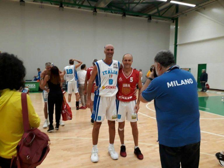 Giulianova, Tonino Caivano Campione del mondo di Basket Over 55