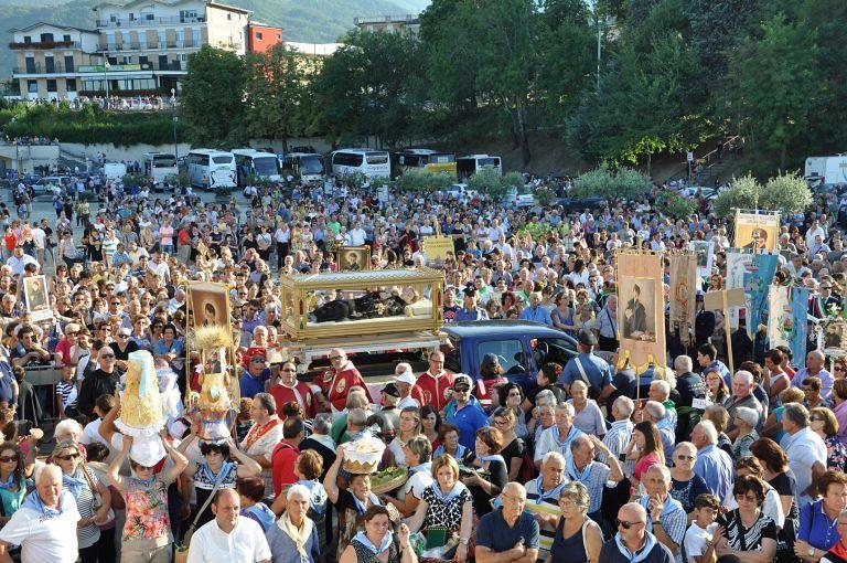 Diecimila pellegrini attesi al Santuario per la festa di San Gabriele