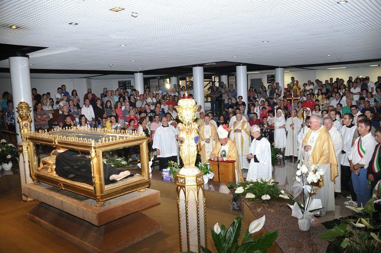 Santuario San Gabriele, giovedì la festa del Santo