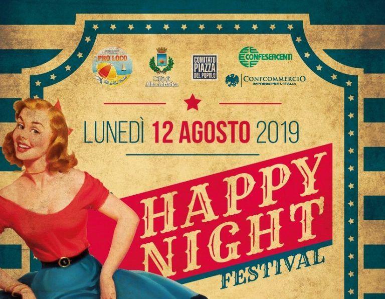 Alba Adriatica, Happy Night Festival: in viale Mazzini musica e balli degli anni '60 e '70