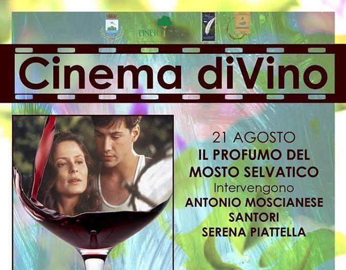 Pineto, il vino al centro della seconda edizione del Cinema all'aperto