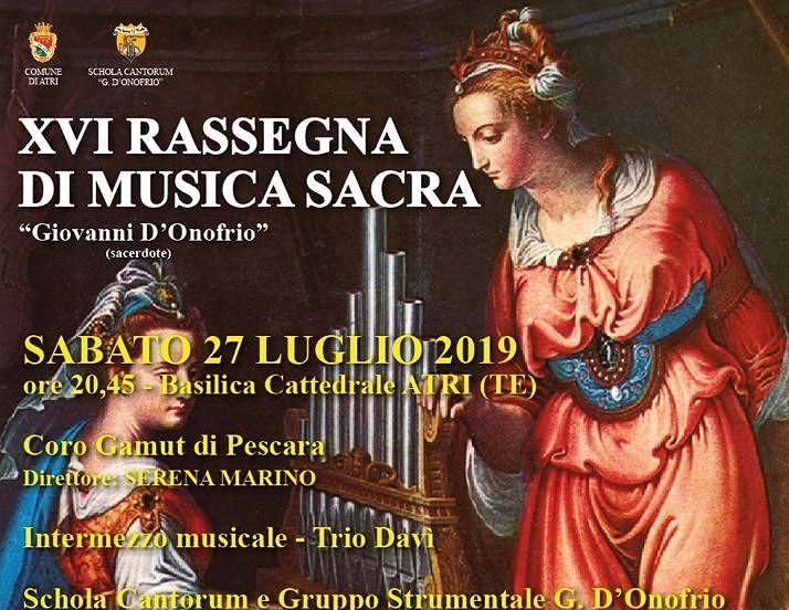 Atri, Rassegna di musica sacra: concerto d'organo nella Chiesa di San Giovanni