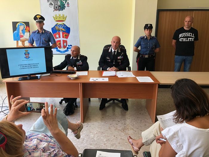 Atessa, rapina in banca durante il permesso dal carcere