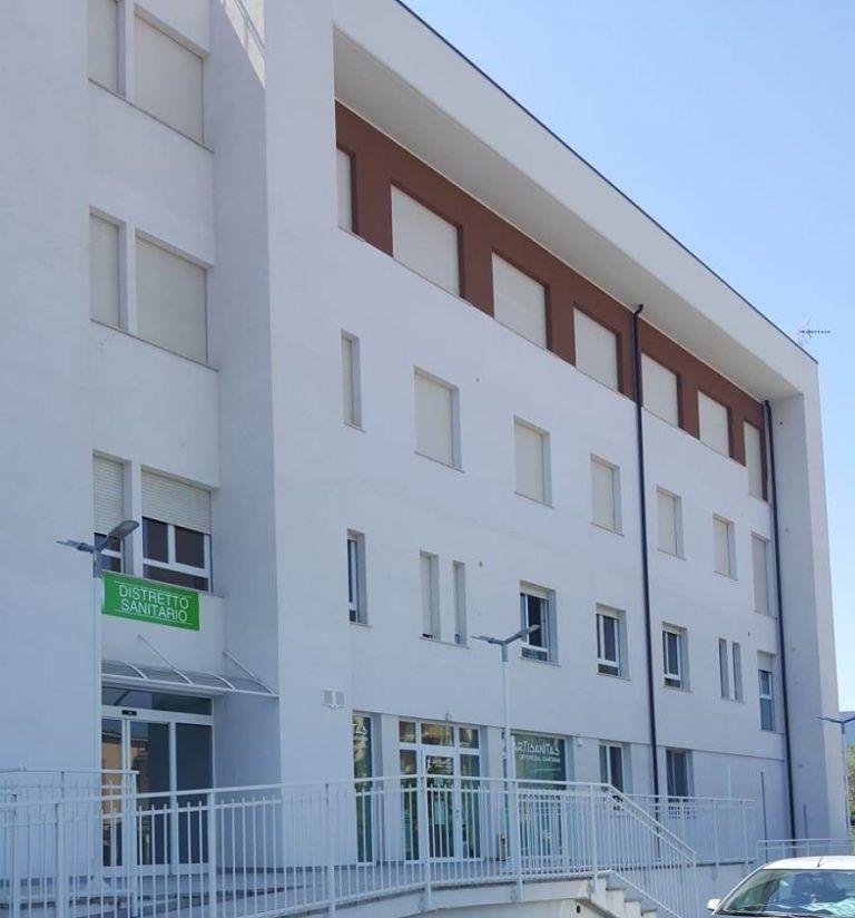Sulmona, il distretto sanitario nella nuova sede