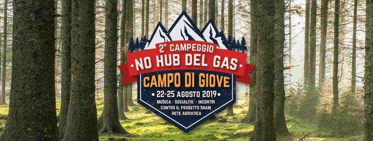 No Snam: al via il campeggio a Campo di Giove
