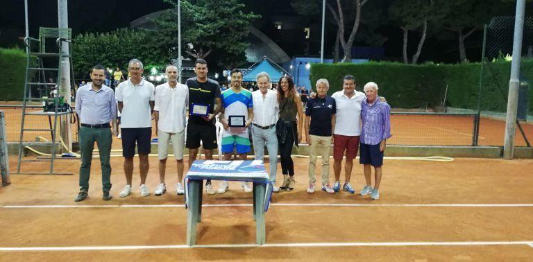 Giulianova, Giorgio Ricca trionfa nel torneo Nazionale Open di Tennis