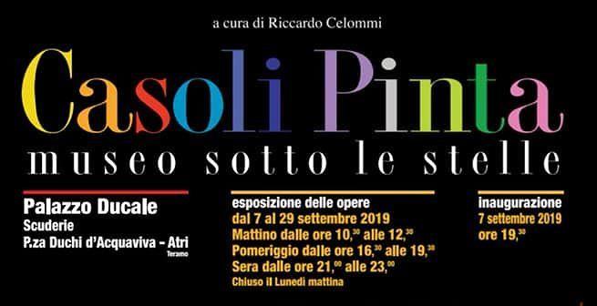 """Atri, Casoli Pinta: l'artista Riccardo Celommi """"alla regia"""" della settima edizione della Biennale di pittura murale"""