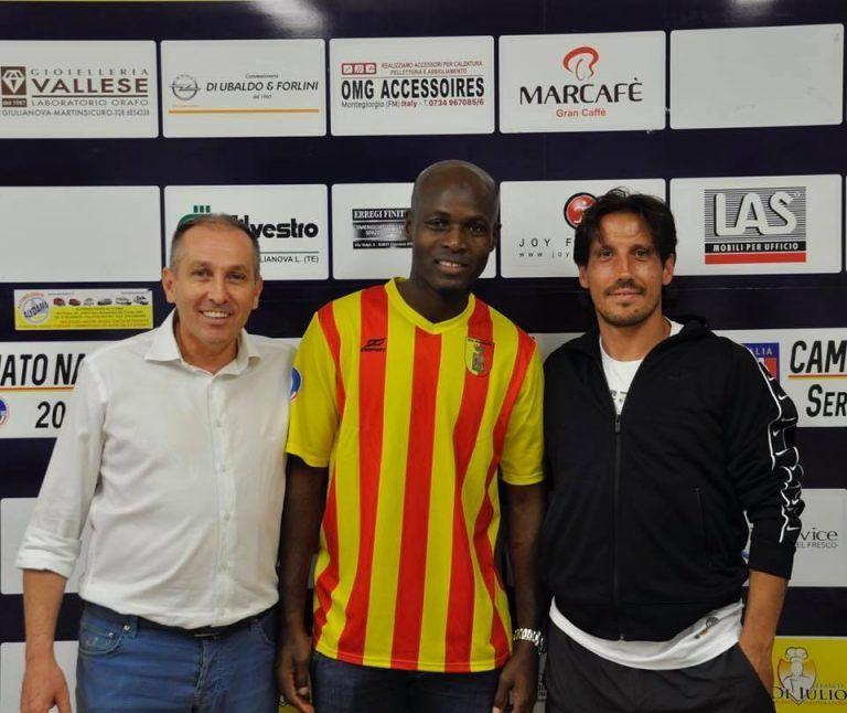 Serie D, il rinforzo in difesa per il Real Giulianova è l'ex Roma Souleymane Diamoutene
