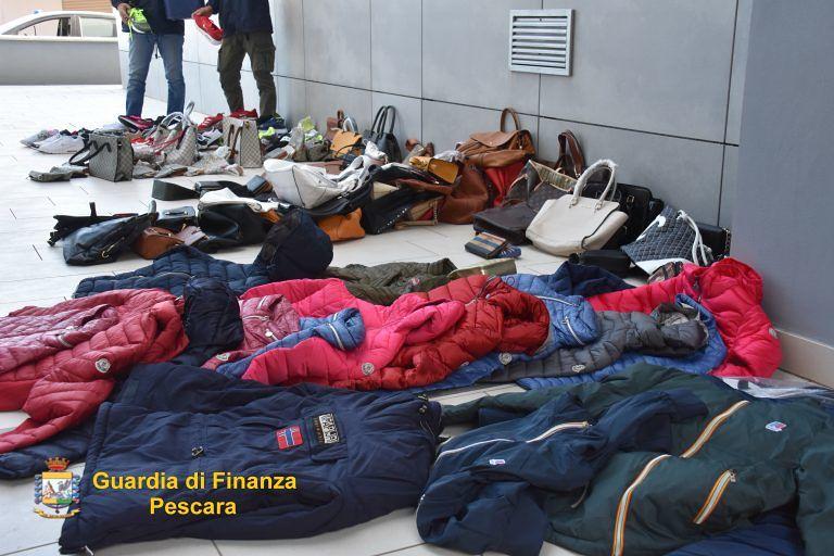 Montesilvano, sequestrata merce contraffatta per 20mila euro