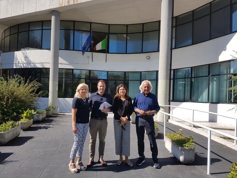 Giulianova, Costantini incontra la Dirigente e il Presidente del Consiglio d'Istituto del Liceo Curie