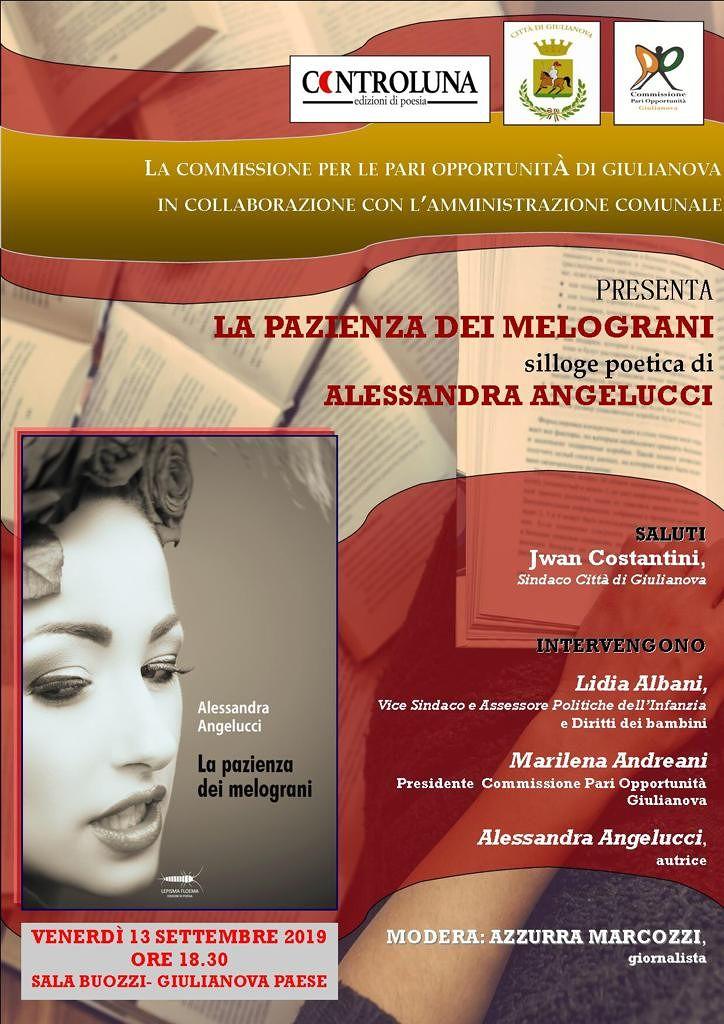 Giulianova, la CPO presenta il nuovo libro di Alessandra Angelucci