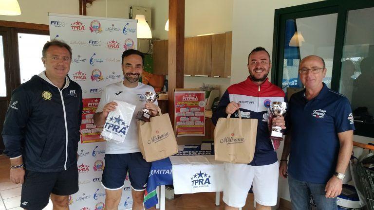 Tennis, Cristian Mongia vince la tappa del primo Circuito Amatoriale Trofeo TPRA Abruzzo
