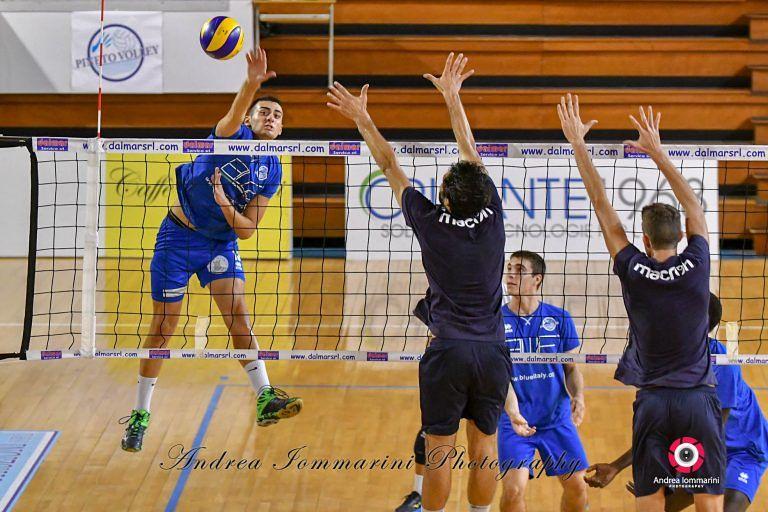 Volley, la Blueitaly Pineto vince in casa contro la Virtus Paglieta