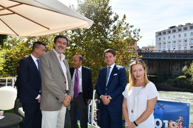 Atreju 2019: Marsilio incontra il Premier Conte