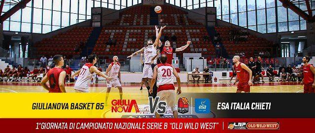 Basket, Giulianova – Chieti: un derby all'esordio in campionato