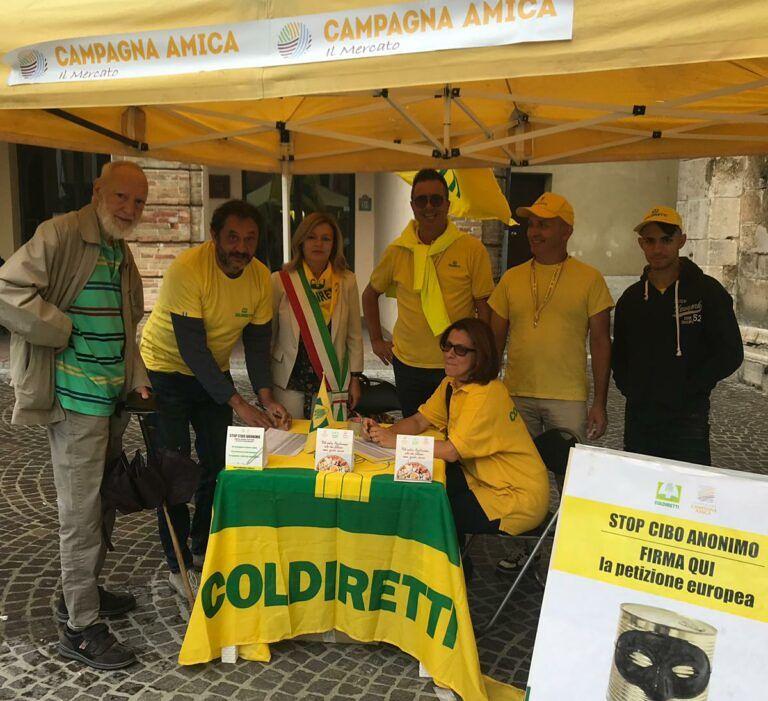 'Stop al cibo anonimo': anche Atri aderisce alla campagna di Coldiretti
