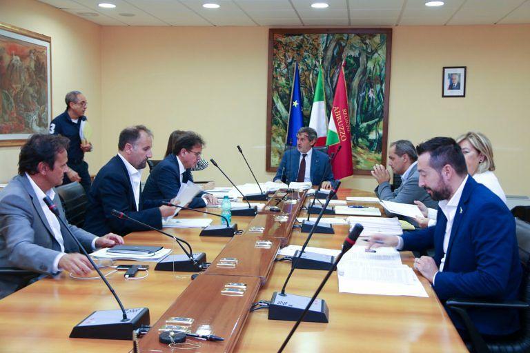 Abruzzo, giunta regionale: tutti i provvedimenti adottati nella seduta odierna