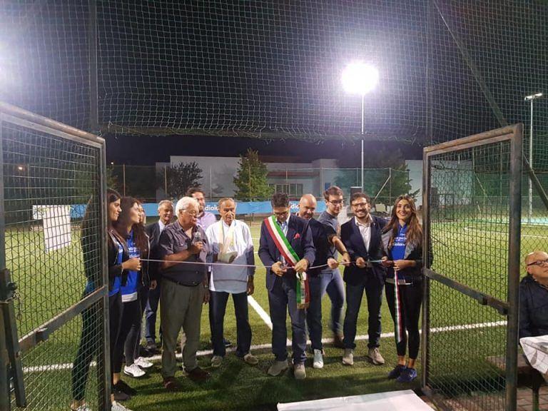 """Sant'Omero, inaugurato il """"nuovo"""" impianto sportivo di Garrufo"""