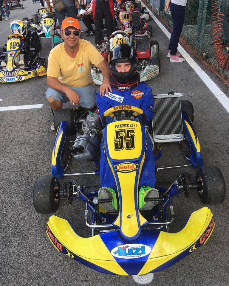 Mosciano, go-kart: D'Ignazio in testa al campionato interregionale. Pronto per la gara nazionale 'Queen Cup'