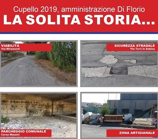 Insieme per Cupello: 'L'amministrazione Di Florio bocciata all'esame dei 100 giorni'