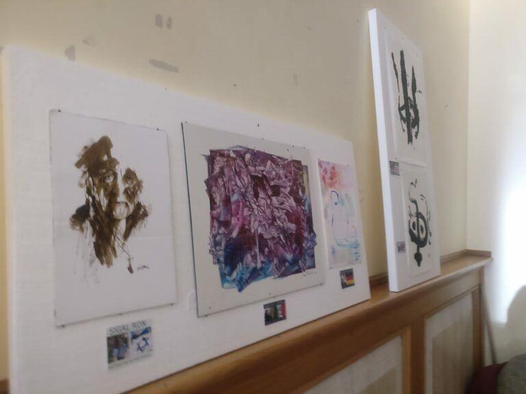 Nereto, in sala Allende la mostra Neutral-ism: arte, solidarietà e salute VIDEO