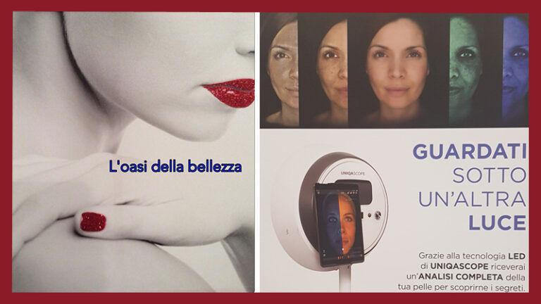 """L'OASI DELLA BELLEZZA Giulianova (TE) """"Guardati sotto un'altre luce"""" GIOVEDÌ' 10 OTTOBRE! Giornata dedicata alla pelle del Viso"""