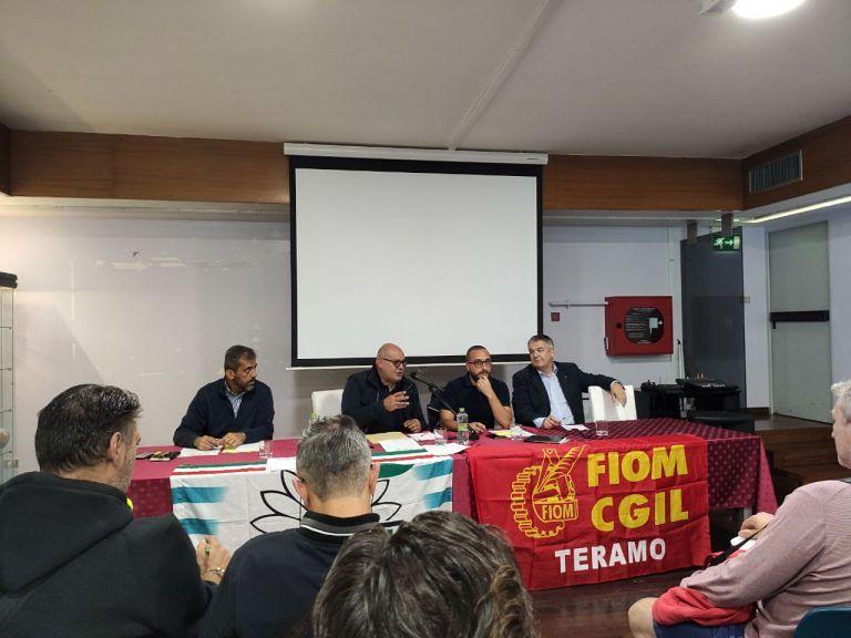 Teramo, i sindacati dei metalmeccanici insieme per l'ipotesi di rinnovo del contratto collettivo nazionale di lavoro