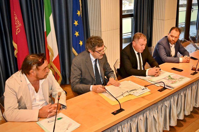 Castel di Sangro, firmato l'accordo per il recupero delle aree dell'ex stazione Sangritana